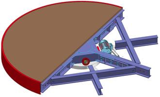 bumat produits plateaux tournants dr10 20. Black Bedroom Furniture Sets. Home Design Ideas